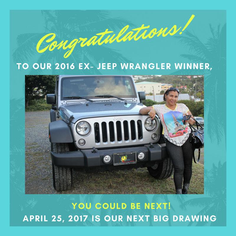 Virgin Islands Lottery - Congratulations to the Winner of