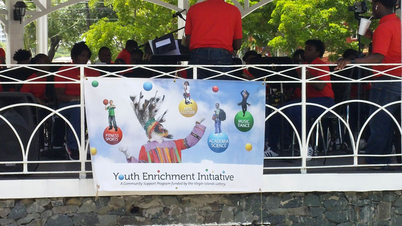 VI Lottery Continues to Support UVI Summer Music Camp