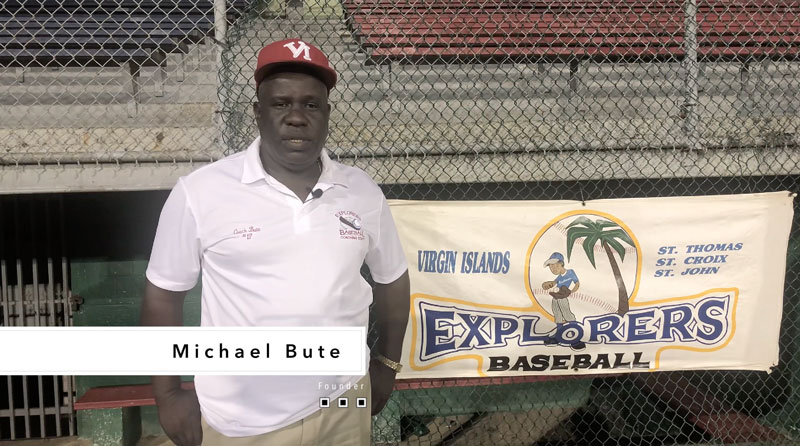 Michael Bute, Founder of St. Thomas Baseball Explorers