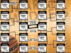 VI Lottery March Madness Ticket
