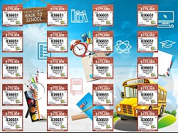 VI Lottery Back to School Ticket