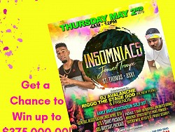 Buy 2 Lottery Tickets - Win a Free J'Ouvert Package!